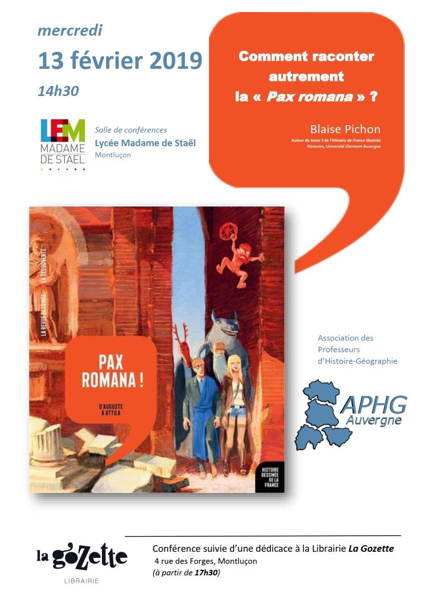 Conférence APHG 13 fev 2019